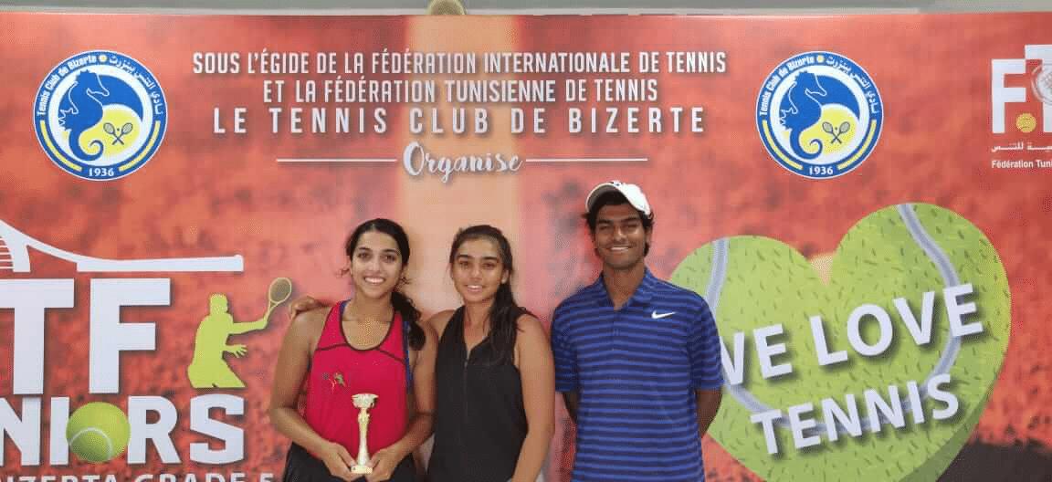 kumkum school Bhakti Parwani tennis winner